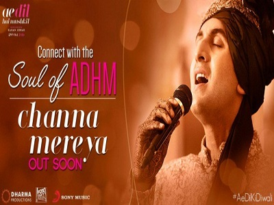 Channa Mereya Song by Arijit Singh