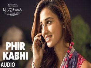Phir Kabhi Song by Arijit Singh