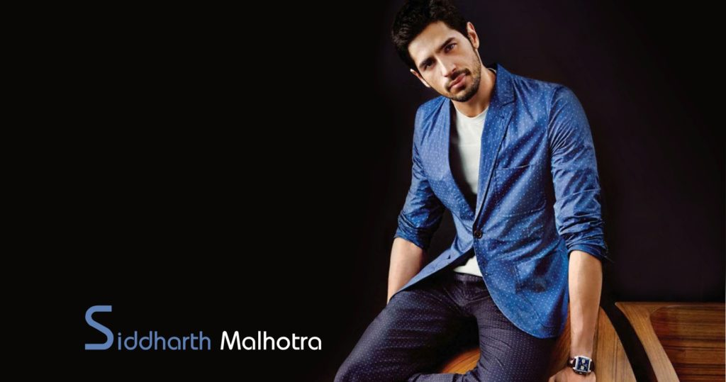 Dashing Sidharth Malhotra HD Wallpaper