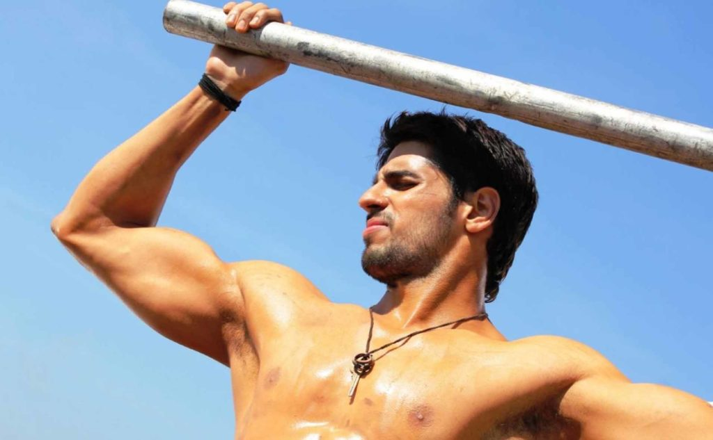 Sidharth Malhotra Hot Body Six Packs