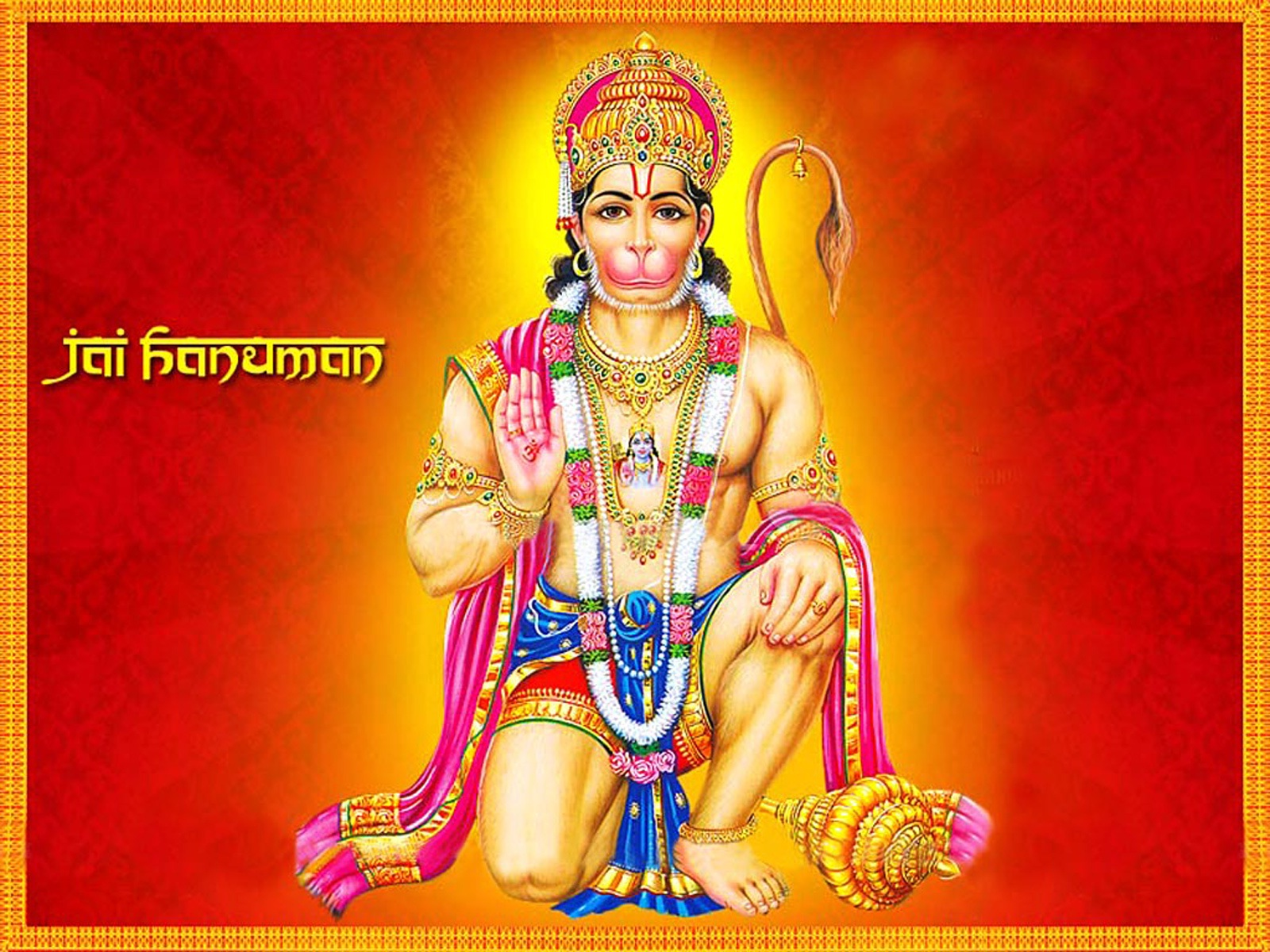 Lord Hanuman HD wallpaper for download